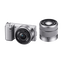 NEX-5 Twin Lens Kit with SEL16& SEL1855mm Lenses (Silver)