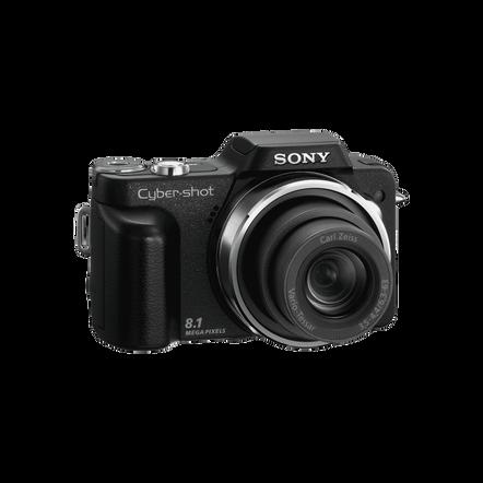 8.1 Megapixel H Series 10X Optical Zoom CyberShot (Black)