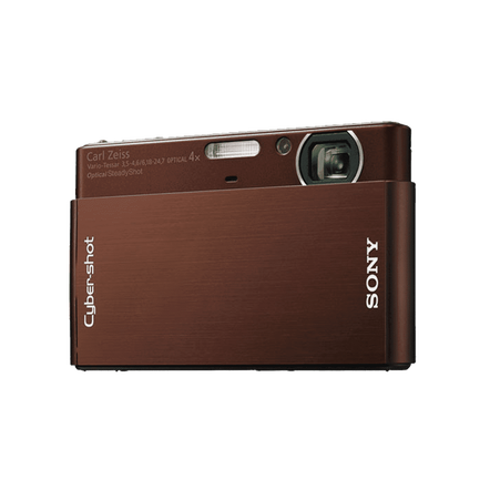 10.1 Megapixel T Series 4X Optical Zoom Cyber-shot Compact Camera (Brown)