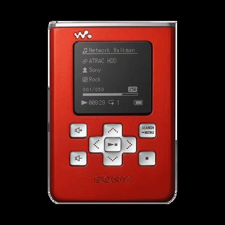 20GB HDD Walkman - Red