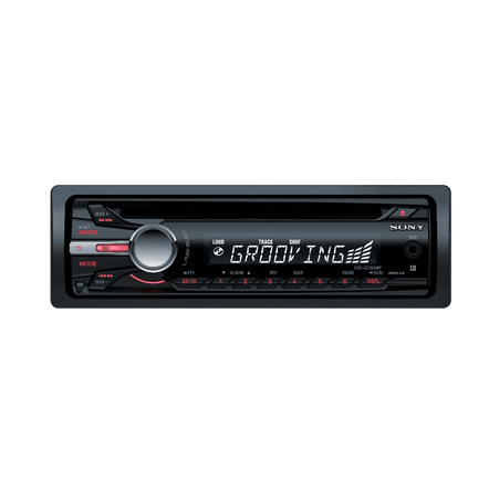 CD Xplod GT260 Series Headunit