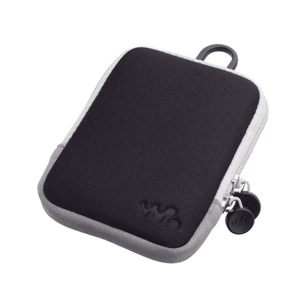 Carrying Case for Walkman Video MP3 Players (Black)