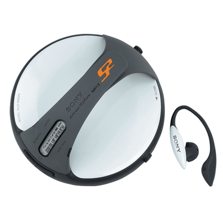 ATRAC3+ New Grip CD Walkman + CD