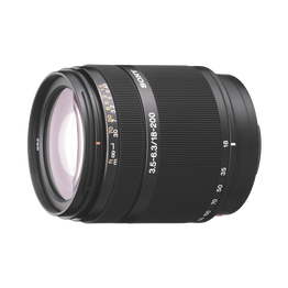 A-Mount DT18-200MM F3.5-6.3 Zoom Lens, , hi-res