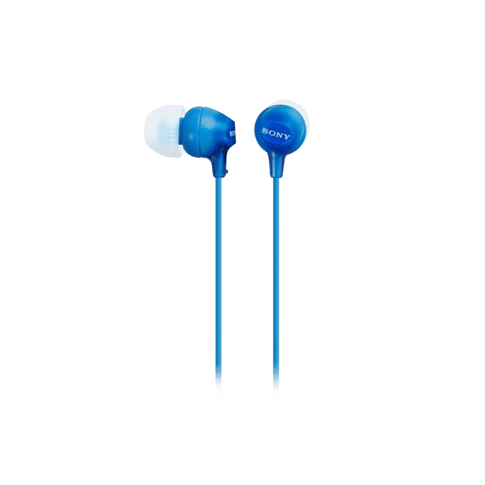 In-Ear Lightweight Headphones (Blue)