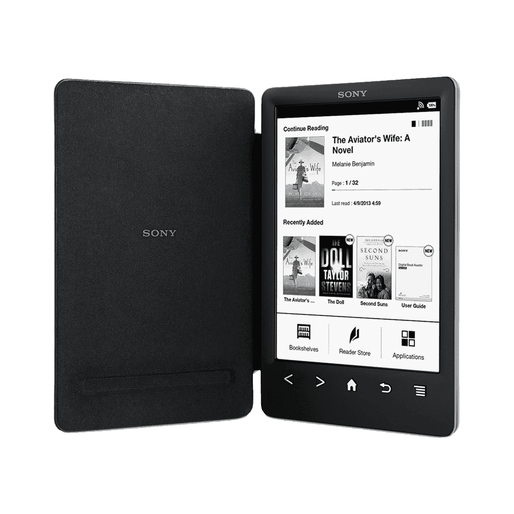 A slimmer, lighter Reader with integrated cover and high resolution screen