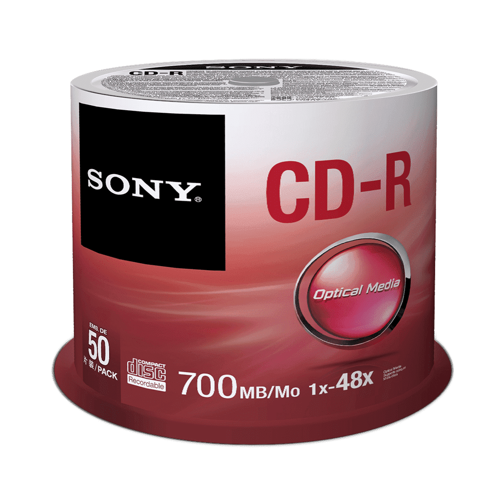 50 Spindle 48X CD-R Disc 700MB, , thumbnail