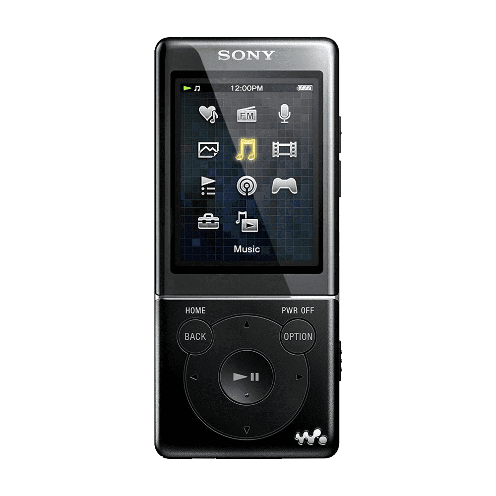 4GB Video MP3/MP4 WALKMAN (Black)