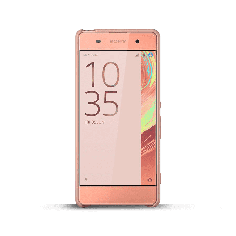 Style Cover SBC26 for Xperia XA (Rose Gold)