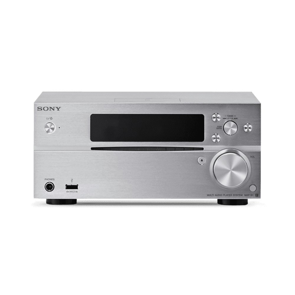 High-Resolution Audio CD Receiver with Bluetooth